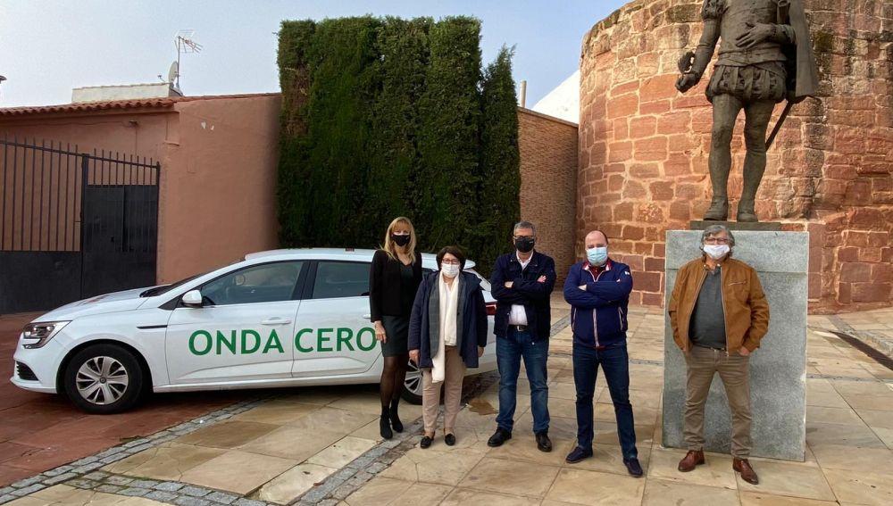 Equipo emisora de Alcázar en 2020
