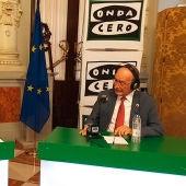 El alcalde de Málaga, Francisco de la Torre, con Carlos Alsina