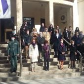 Minuto de silencio guardado en la Subdelegación del Gobierno de Ciudad Real
