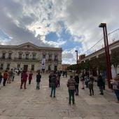 Así ha vivido Alcázar el minuto de silencio por las victimas