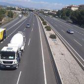 La Vía de Cintura de Palma reducirá su velocidad máxima a 80 km/hora a partir de febrero de 2021