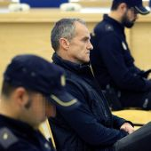 El exdirigente de ETA José Javier Arizkuren Ruiz, 'Kantauri', durante un juicio.