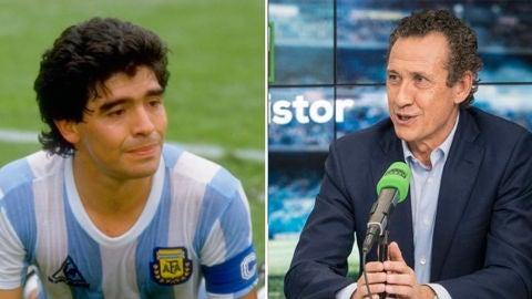 Jorge Valdano recuerda a Maradona