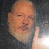 El activista y periodista Julian Assange, fotografiado en Reino Unido en el año 2019
