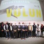 Jornada de voluntariado de la Diputación
