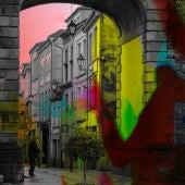 """""""A sombra da muralla"""" luz e son para os 20 anos de Patrimonio da Humanidade"""