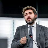 Jonás Fernández, eurodiputado asturiano del PSOE