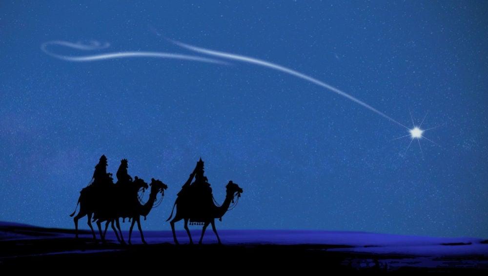 Los Reyes Magos parten de Oriente para entregar los regalos.