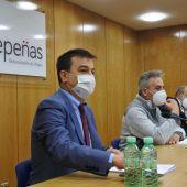 Francisco Martínez Arroyo ha asistido a la reunión de la Junta Directiva de la DO Valdepeñas
