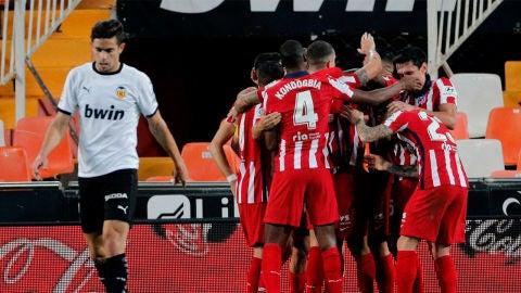 Partido Valencia- Atlético de Madrid