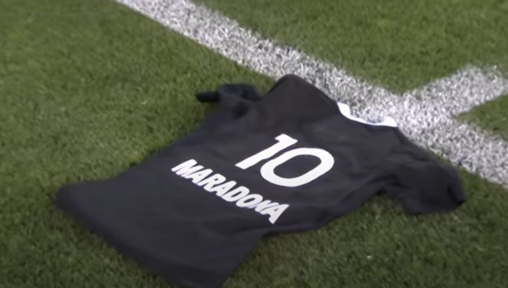 El tributo a Maradona de All Blacks