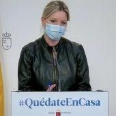 Ana Martíenz Vidal, consejera portavoz