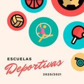 Cartel de las Escuelas Municipales Deportivas