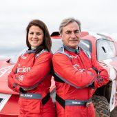 Carlos Sainz y Laia Sanz correrán el Extreme E