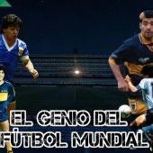 Maradona, el genio del fútbol mundial