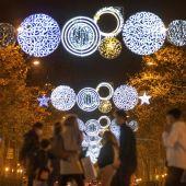 Els llums de Nadal als carrers de Barcelona