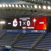 Deportivo 1-Racing de Ferrol 0