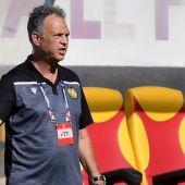 El entrenador Joaquín Caparrós.