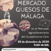Mercado quesos Málaga 2020