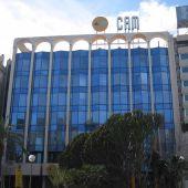 Sede central de la CAM, actualmente sede social del Banco Sabadell
