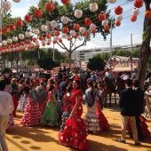 Foto de archivo del Real de la Feria de Sevilla.