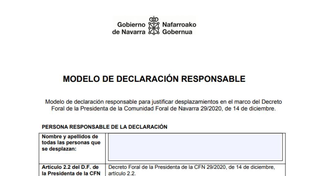Salvoconducto para desplazamientos en Navarra