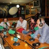 Alberto Gómez Barros, Jorge Gacía Santos, Mayra Arrojo y Suso Suárez Lourido en A Cervexa.