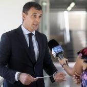 El viceconsejero de Empleo y Diálogo Social, David Martín