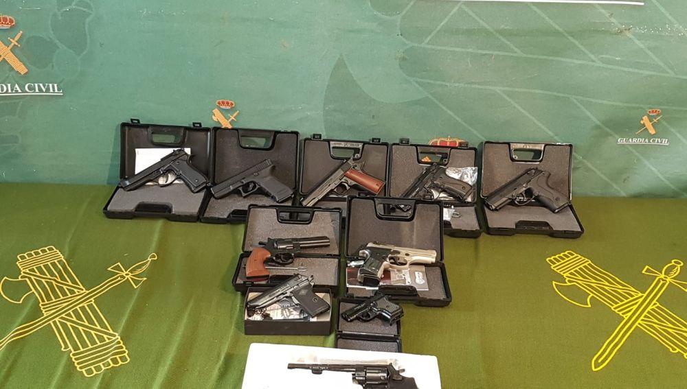 La Guardia Civil interviene más de 100 armas en Miguelturra