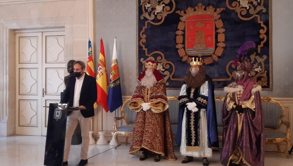 Manuel Jiménez y los Magos de Oriente