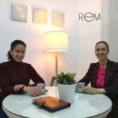 Raquel Carbajo y María Luisa Ibán impulsoras de Red-Rem