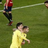 El delantero del Villarreal, Gerard Moreno.
