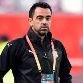 Xavi Hernández, entrenador en Qatar.