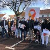 Dirigentes del PP han apoyado la manifestación con la Ley Celaá