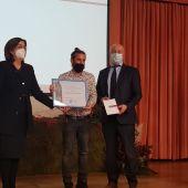 """Miguel Martínez recibe el IV Premio Internacional de Poesía """"Jorge Manrique"""""""