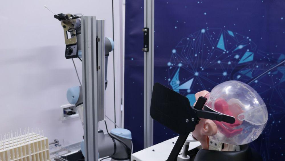 Robot diseñado por especialistas de la UMH de Elche.
