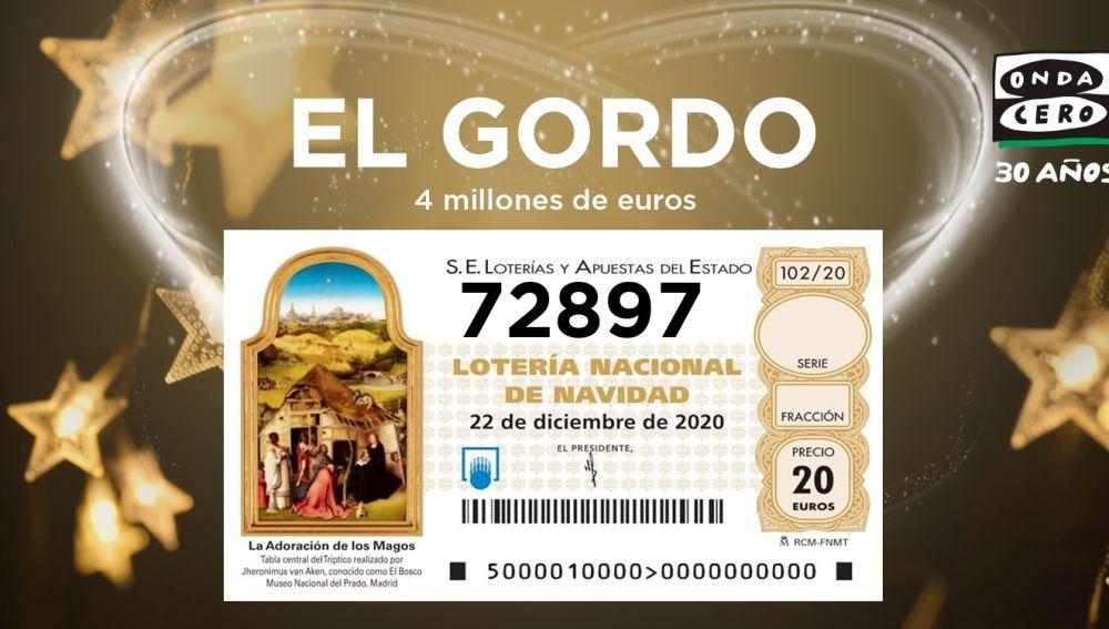 72897 el Gordo 2020