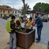 Los alumnos del C.C. Educación Especial Mª Auxiliadora realizan prácticas en Miguel Esteban