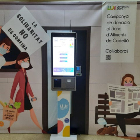 La UJI consigue más de 8.000 euros para el Banco de Alimentos de Castelló en la primera fase de la campaña «La solidaridad no se confina»