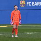 Cata Coll, portera del FC Barcelona Femení