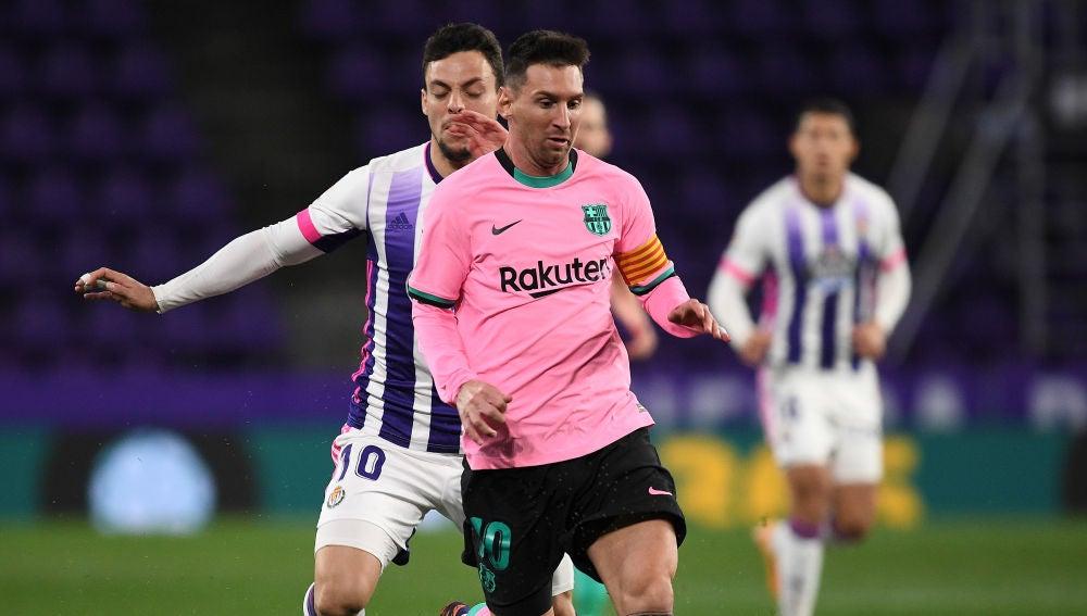 Messi supera a Pelé y se convierte en el jugador de la historia que más goles marca con un mismo club frente al Valladolid