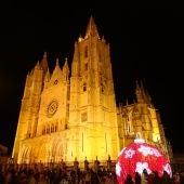 La Catedral de León en Navidad