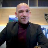 Manolo Gaspar en su despacho