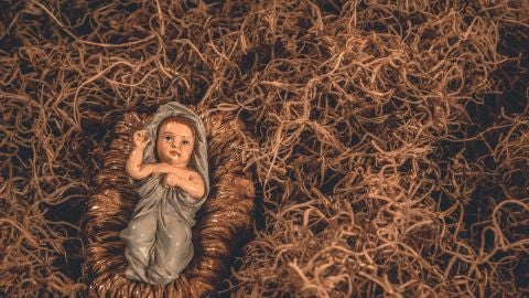 El niño Jesús en un Portal de Belén