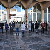 Minuto de silencio en el Ayuntamiento de Ciudad Real