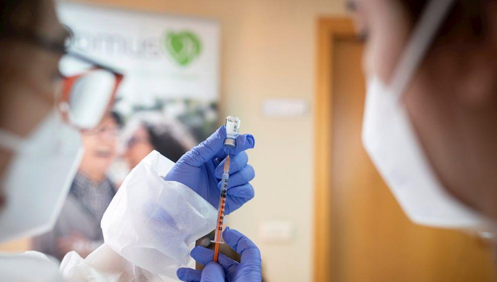 Imagen de archivo: vacuna contra la Covid-19.