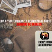 cartel anunciador del escape room virtual