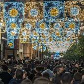 Encendido de las luces de Navidad en Sevilla, el 6 de diciembre.