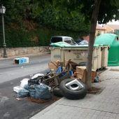 IU pide un estudio para ubicar los contenedores en Palazuelos
