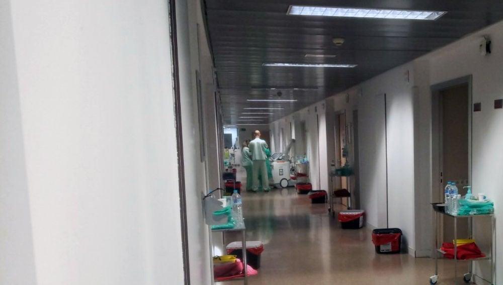 Planta en un hospital de Elche durante la pandemia del covid-19.